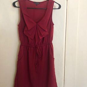 Super cute maroon dress
